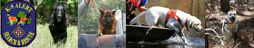 K9 ALERT Search and Rescue Dogs, Inc.